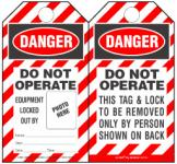Self-Laminated Safety Tags