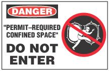 Confined Space Signs and Tags