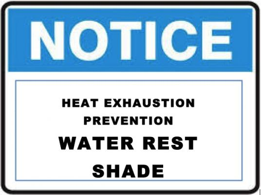 Heat Related Worker Illness