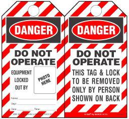 Self-Laminated Safety Tags Offer Compliance Convenience