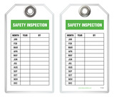 Inspection Safety Tag - Safety Inspection