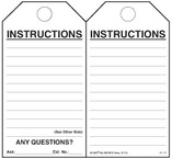 Instructions Self-Laminating Safety Tag Kit