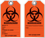 Safety Tag - Biohazard