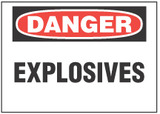 Danger Sign, Explosives