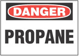 Danger Sign, Propane