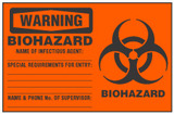 Warning Sign, Biohazard (Biohazard Symbol)