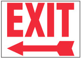 Exit Sign (Left Arrow)