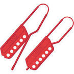 Red Nylon Lockout Hasp