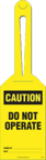 Loop Tag - Caution, Do Not Operate (10/Pack)