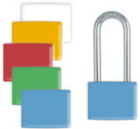 Lockwrap® Color-Coded Padlock Sleeve