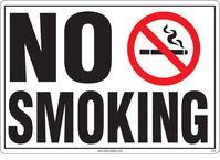 No Smoking Sign (With Symbol)