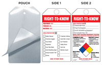 Right-To-Know (Personal Protection Checklist) Safety Tag Kit