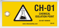 Chemical Isolation Point Tag (10/Pack)
