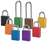 Color Coded Aluminum Padlocks