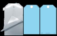 Blue (Blank) Self-Laminating Safety Tag Kit