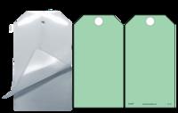 Green (Blank) Self-Laminating Safety Tag Kit