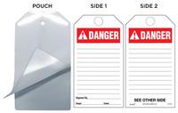 Danger (Ansi) Self-Laminating Safety Tag Kit