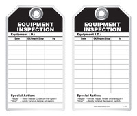 Inspection Safety Tag - Equipment Inspection
