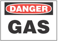 Danger Sign, Gas