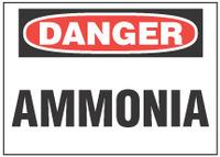 Danger Sign, Ammonia