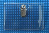 Horizontal Clip-on Badge