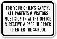 For your Child's Safety, All Parents