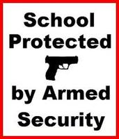 School Protected By Armed Security