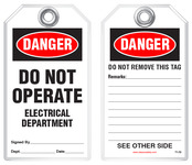 Electrical Safety Tags