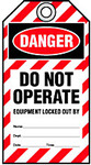 'Do Not Operate' Lockout Tags